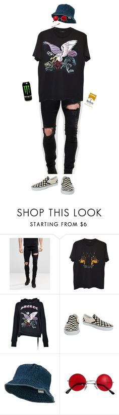 """{ kenta's "" first "" appearance"" by salt-sugar ❤ liked on Polyvore featuring ASOS, Givenchy, Marcelo Burlon, Vans, men's fashion and menswear"