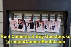 We rent Polaroids/Fujifilm Instax Cameras and instant cameras for weddings and other events. Photo Guest Book, Guest Book Sign, Guest Books, Wedding Guest Book, Diy Wedding, Wedding Photos, Wedding Ideas, Polaroid Ideas, Polaroid Pictures