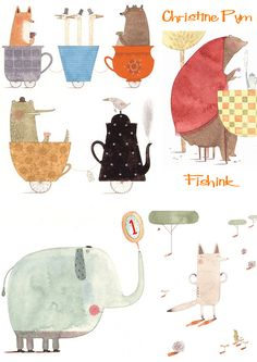 Fishinkblog 8391 Christine Pym 6 Check out my blog ramblings and arty chat here www.fishinkblog.w... and my stationery here www.fishink.co.uk , illustration here www.fishink.etsy.com and here carbonmade.com/.... Happy Pinning ! :)