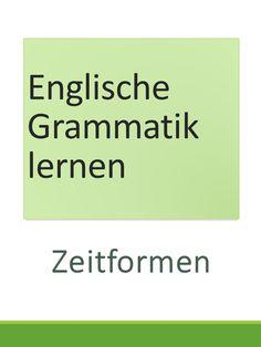 23 Besten Zeitformen Bilder Auf Pinterest German Language Learn