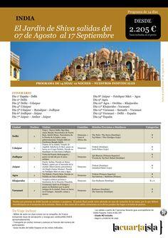 El Jardin de Shiva desde 2.205€ tax incl.Salidas desde Mad, Bcn, Bio del 07 de Ago al 17 de Sep ultimo minuto - http://zocotours.com/el-jardin-de-shiva-desde-2-205e-tax-incl-salidas-desde-mad-bcn-bio-del-07-de-ago-al-17-de-sep-ultimo-minuto/