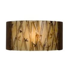 A19 RE105 Asia 1 Light Wall Washer Sconce  - A19 RE105 Asia 1 Light Wall Washer Sconce from the reFusion Collection