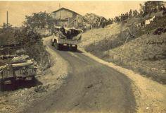 Tropas brasileiras no Vale do Rio Pó - Gen. Tácito Theóphilo Gaspar de Oliveira.