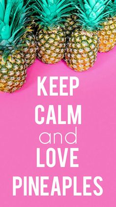 For all of our pineapple-loving people!