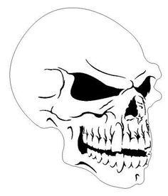 Airbrush Skull Stencils Free Download