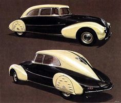 1935 Maybach SW 35 design by Jaray, build by Spohn by kitchener.lord, via Flickr