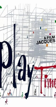 Directed by Jacques Tati.  With Jacques Tati, Barbara Dennek, Rita Maiden, France Rumilly. Monsieur Hulot curiously wanders around a high-tech Paris, paralleling a trip with a group of American tourists. Meanwhile, a nightclub/restaurant prepares its opening night, but it's still under construction.