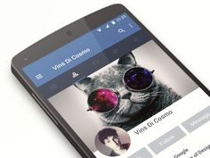 Facebook Material Design Animation