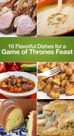 16 Flavorful Dishes For A Game of Thrones Feast