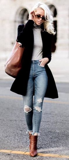 45 Popular Fall Outfits Ideal For You – Elissa Paquiam - TechUve Photos Spring Fashion Outfits, Fall Winter Outfits, Look Fashion, Autumn Fashion, Fashion Kids, Blazer Fashion, 50 Fashion, Womens Fashion, Latest Fashion