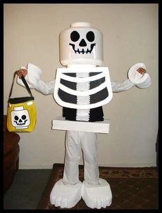 Legoman Skeleton