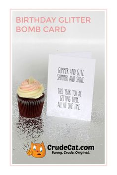 Funny Birthday Card - Prank Glitter Bomb Birthday Card For Him, For Husband, For Wife, For Girlfriend, or For Best Friend - Funny Cards Father Birthday Gifts, Birthday Cards For Boyfriend, Dad Birthday Card, Birthday Cards For Friends, Birthday Cards For Women, Birthday Gifts For Best Friend, Funny Birthday Cards, Homemade Anniversary Gifts, Unique Anniversary Gifts