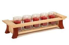 Woodworking Ideas Bright-Idea Candleholders Woodworking Plan from WOOD Magazine - Small Woodworking Projects, Small Wood Projects, Popular Woodworking, Woodworking Furniture, Fine Woodworking, Woodworking Crafts, Woodworking Beginner, Woodworking Quotes, Woodworking Chisels