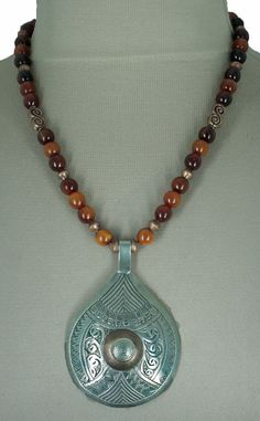 Moroccan Tuareg Silver and Burnished Copper by SilkRoadJewelry