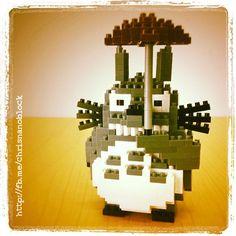 Nanoblock Totoro, From Chris's Nanoblock Blog