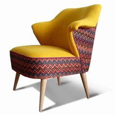 Kariya Interior: Company Page Admin Tub Chair, Accent Chairs, Armchair, Upholstery, Interior, Furniture, Home Decor, Tin Cans, Upholstered Chairs