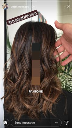 New hairstyle and color ideas for 2019 - Just Trendy Girls: ideas . - Frisuren Haare Schritt New hairstyle and color ideas for 2019 – Just Trendy Girls: ideas … Brown Hair Balayage, Hair Color Balayage, Brown Balyage, Caramel Balayage Brunette, Brown Hair With Lowlights, Balayage Diy, Dark Hair Balyage, Balyage Caramel, Balayage Hair Brunette Medium