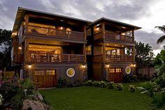Waialua Vacation Rental - VRBO 371517 - 2 BR North Shore Oahu Villa in HI, Bali Style Oahu Hawaii North Shore Beachfront Home Sleeps up to 6