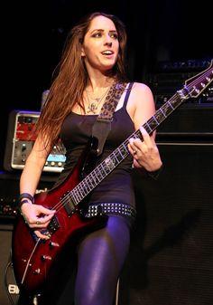 Ladies Of Metal, Punk Women, Women Of Rock, Rocker Girl, Bass, Cover Band, Guitar Girl, Female Guitarist, Beautiful Guitars