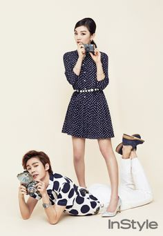 BTOB Il Hoon and Joo - InStyle Magazine May Issue '15