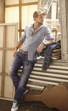 Men's Distressed Denim Separates from Denim & Supply Ralph Lauren