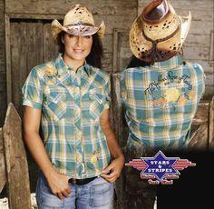 Stars & Stripes Karobluse Texas Rose