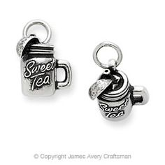 Sweet Tea Charm from James Avery. I can think of quite a few good friends that need to add this charm to their bracelet!