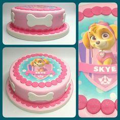 Cake Skye_Paw Patrol #PrityCakes #fondantcakes #fondant #cakes #tortas…