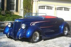 1936 Ford Roadster - Boyd Coddington   What a gorgeous car to look out your window and see.
