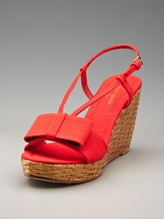 kate spade new york shoes Callista Wedge Sandal