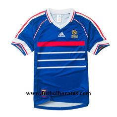 Jersey World Cup 2018 France 1998 Home Team N Golo Kante, Home Team, World Cup 2018, Soccer Shirts, France, Soccer Jerseys, French Resources