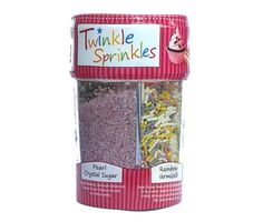 4 compartments containing Choco vermicelli, & pearl crystal sugar and rainbow vermicelli. Chocolate Sweets, Gluten Free Chocolate, Twinkle Twinkle, Gluten Free Recipes, Free Food, Sprinkles, Rainbow, Sugar, Foods