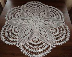 Home Decor Crochet Patterns Part 83 - Beautiful Crochet Patterns and Knitting Patterns Crochet Doily Patterns, Crochet Art, Crochet Home, Thread Crochet, Irish Crochet, Crochet Crafts, Crochet Doilies, Crochet Stitches, Crochet Projects