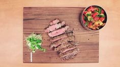Are you a Then this easy-to-do recipe is for you! Enjoy your perfect steak, cooked with cookware! Food Videos, Meat, Cookware, Cooking, Healthy, Recipes, Perfect Steak, Diy Kitchen Appliances, Kitchen