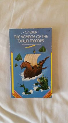 Narnia, Voyage of the Dawn Treader, Paperback book, Chronicles of Narnia Series, C.S. Lewis, Book #3 by ShaysVintageLibrary on Etsy https://www.etsy.com/listing/264155329/narnia-voyage-of-the-dawn-treader