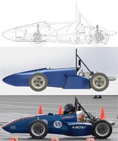 From paper to reality, by students of the UCV #FSAE #UCV
