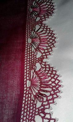 Tığ işi oyalar Crochet Borders, Crochet Patterns, Needle Tatting, Teneriffe, Crochet Projects, Hand Embroidery, Diy And Crafts, Bobbin Lace, Sewing