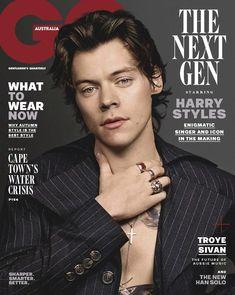 ae87c783d0 Male Fashion Trends  Harry Styles para GQ Australia Mayo 2018 Harry Styles