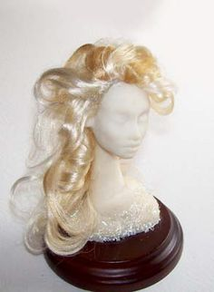 Here is a tutorial to make wigs for dolls    http://www.ooakartistemporium.com/files/WiggingWithViscose-Tutorial.pdf