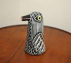 Carved porcelain Eagle bird Ewer pitcher by shoshonasnow on Etsy, $45.00