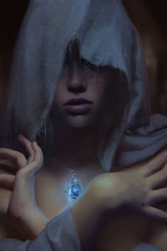 The Oracle by Marta Dahlig, a long standing Deviant artist. I especially like her seven deadly sins series