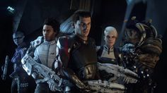 Get an eyeful your Mass Effect Andromeda crew in this new Mass Effect Andromeda trailer. There is a krogan. Mass Effect: Andromeda comes out o. Playstation, Mass Effect Andromeda Characters, Xbox One, Microsoft, Out Of Office Message, Sony, Electronic Arts, Cinematic Trailer, Latest Trailers