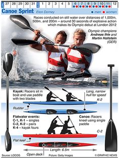 Olympics 2012 in infographics: water sports