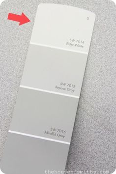 Sherwin Williams - Repose Gray and everything else in this swatch palette!
