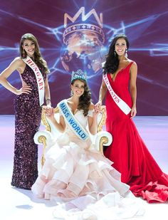 Miss South Africa, Rolene Strauss, was crowned Miss World 2014 at the contest's glitzy final in London on Sunday, with an estimated billion viewers watching. Miss World 2014, Miss Philippines, World Winner, Miss Univers, Miss India, Dressy Dresses, Western Dresses, Beauty Pageant, Celebs