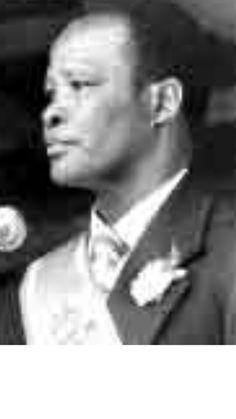 Great Chief HRH Kaiser Daliwonga Matanzima of the Thembu.