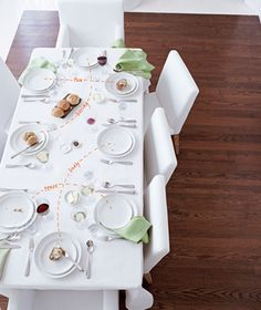 Dinner Party Seating Strategies - a cute way to look at it and make sure everyone is organized accordingly! [real simple]