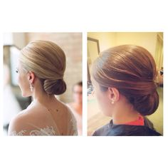 Inspired by the photo on the left #weddinghair #lovemyjob