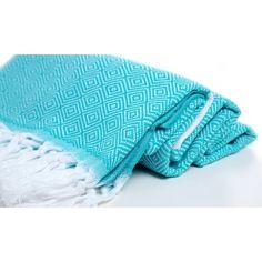 "Turkish Towel ""Turquiose"""