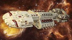 Galactica. Lego Galactica.